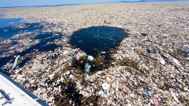 Contaminación en isla del caribe